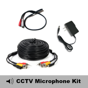 cctv microphone kit