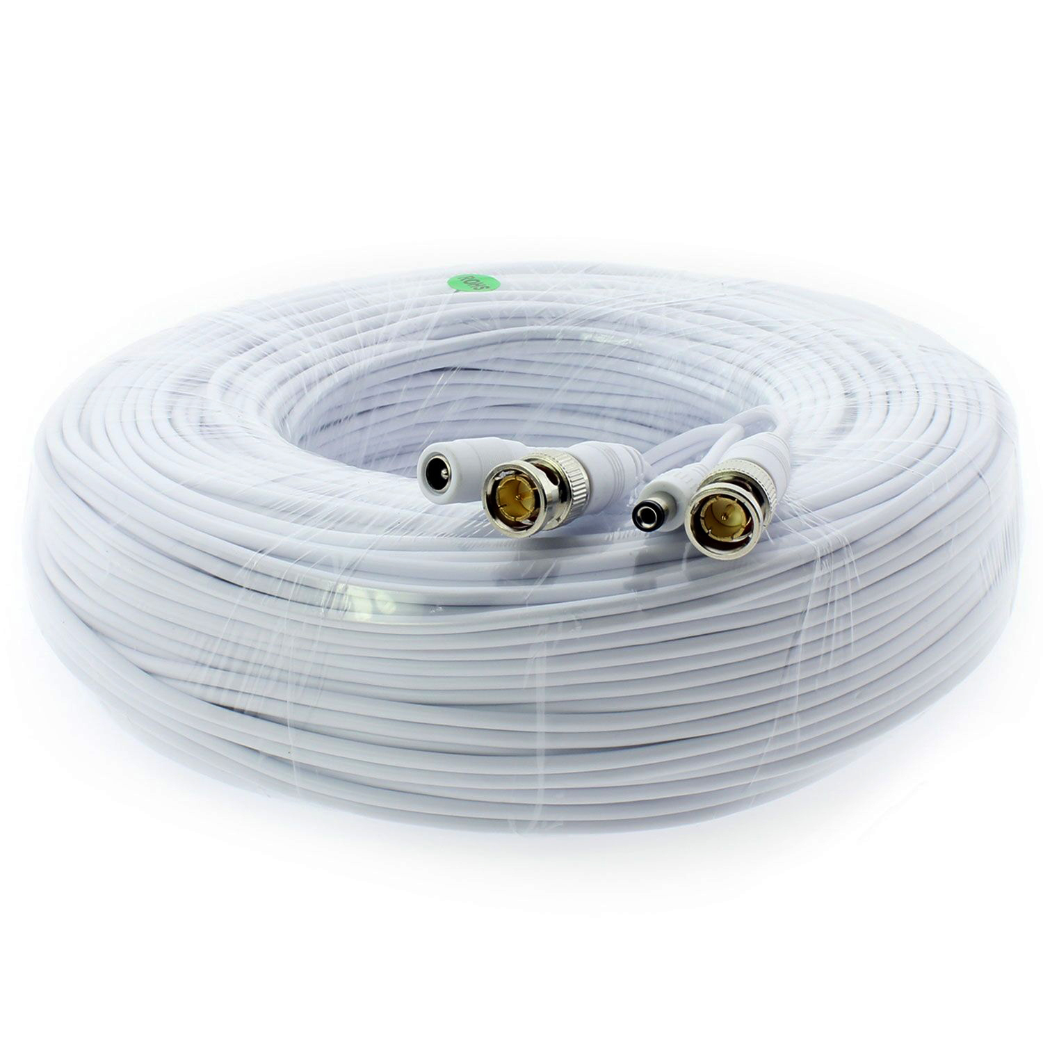 System Four Pack 200/' Security Camera Cables Premium Quality for all BNC Coax