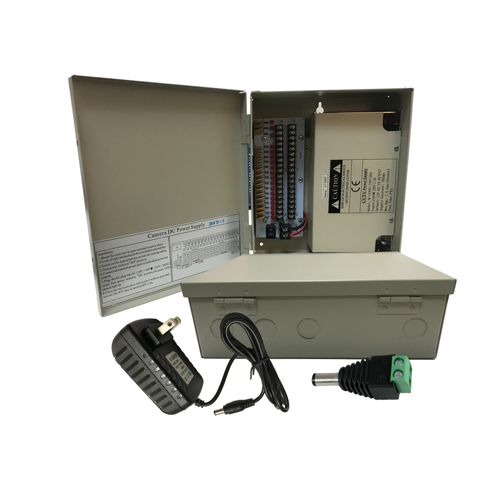 CCTV Power Supplies and Adapters