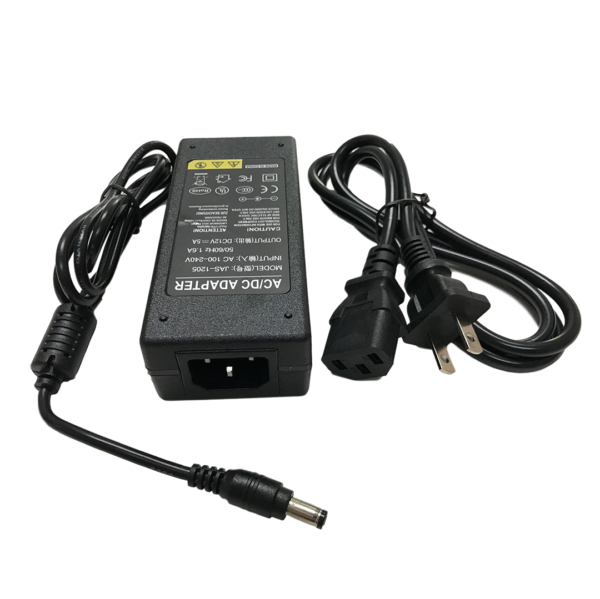 12VDC 5 Amp Power Supply adapter