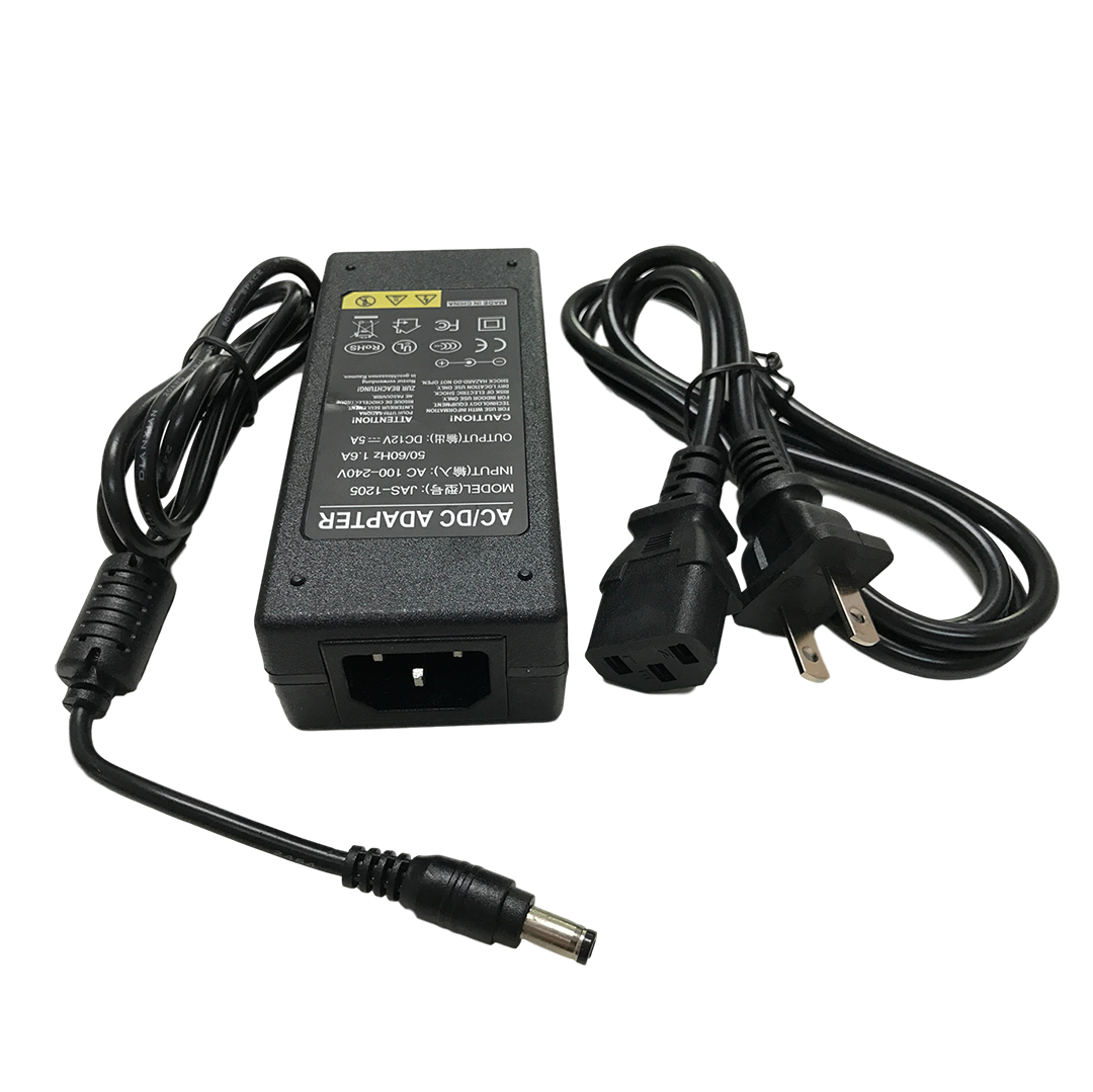 Sam800kit 12vdc 5amp 8 Camera Power Supply For Samsung Systems Lock Wiring Diagram Along With Security Bnc Cable Connectors