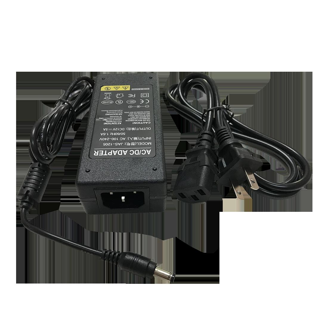 SAM800KIT 12VDC 5Amp 8 Camera Power Supply for Samsung Wisenet Systems