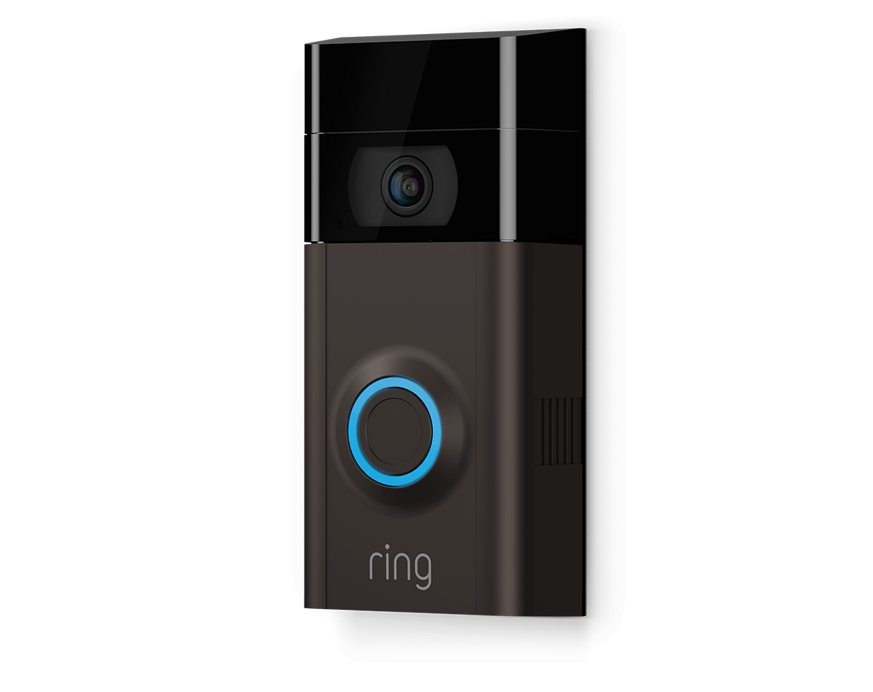 ring video doorbell 2 home security doorbell camera. Black Bedroom Furniture Sets. Home Design Ideas