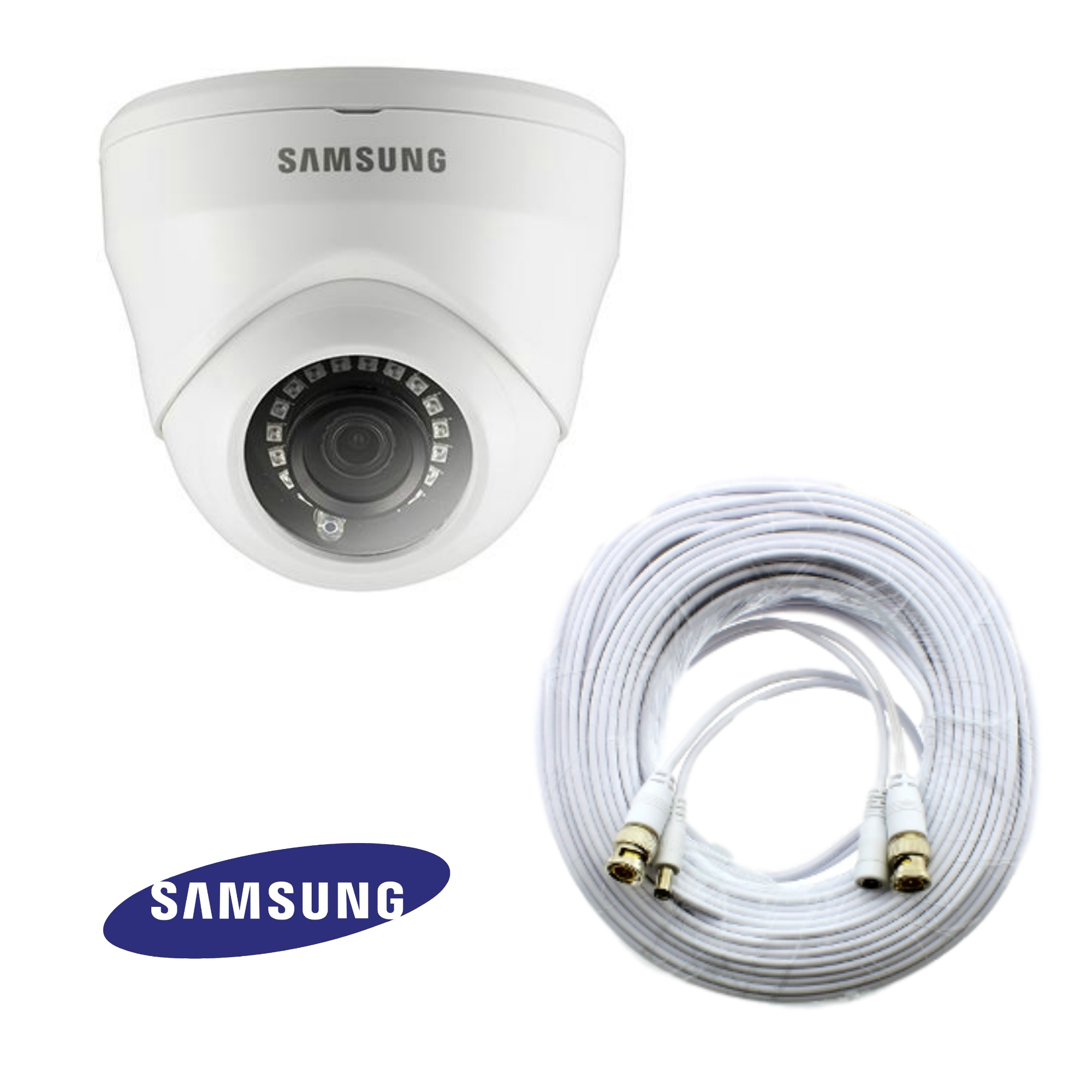 sdc 9443df samsung 2mp hd dome security camera kit. Black Bedroom Furniture Sets. Home Design Ideas