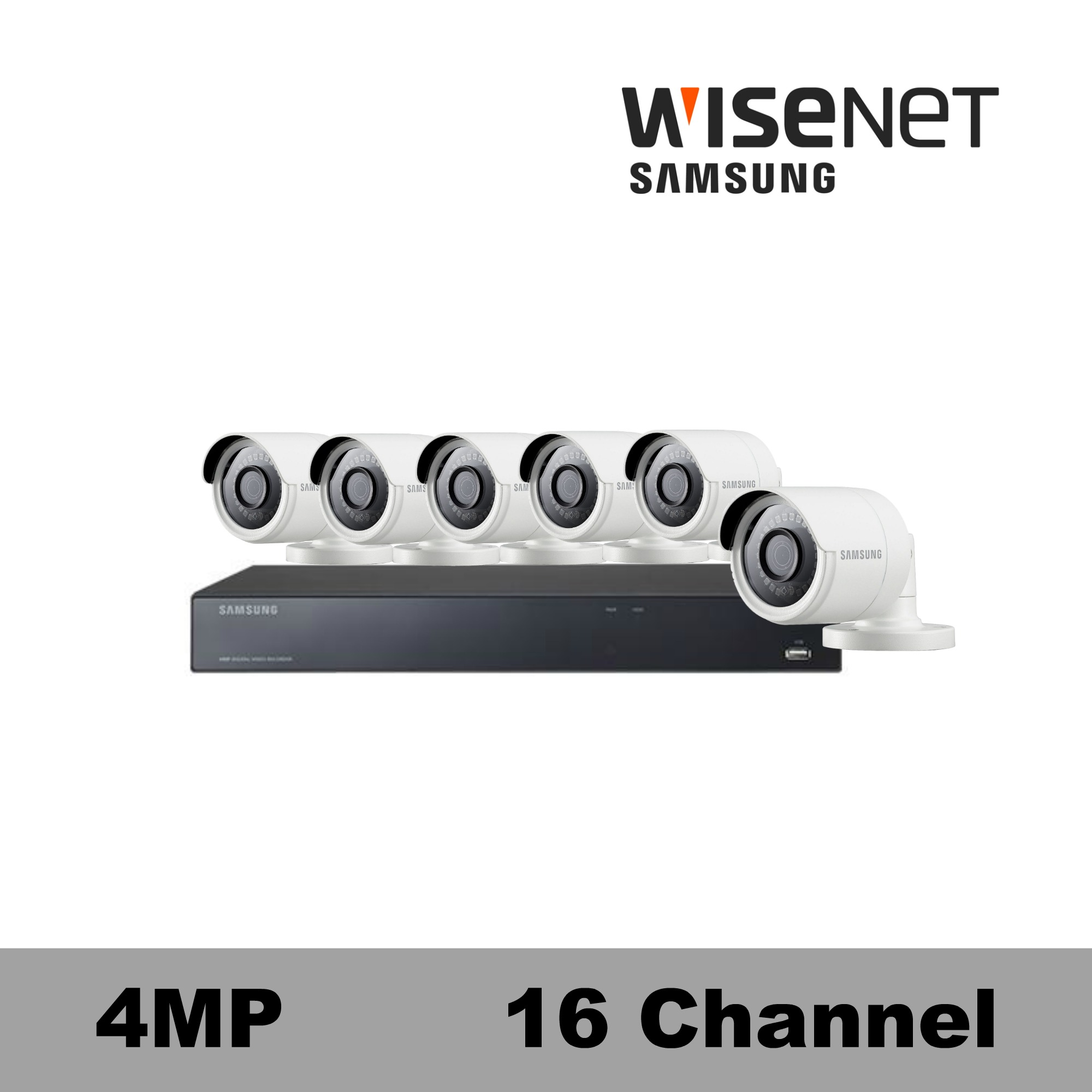 Samsu ng 4MP Security Camera System