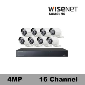 Samsung Super HD 4MP Security camera System