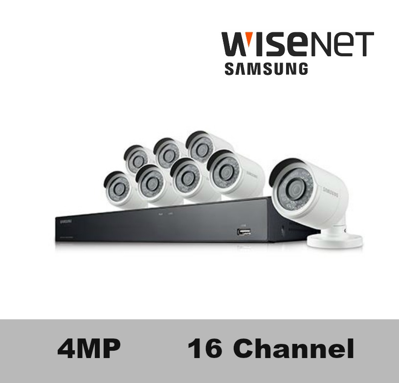 snk d5081 samsung 16 channel 4mp super hd nvr security system - Nvr Security System