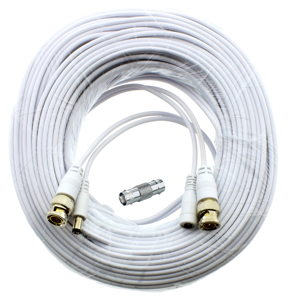 Sts Fhdc60 Premium 60 Foot Hd Bnc Cctv Cable