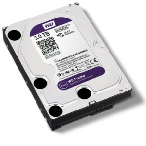 Western Digital 2TB Purple Hard Drive