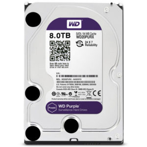 Western digital 8TB Surveillance Hard Drive
