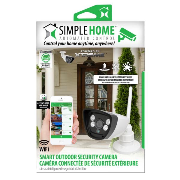 XCS7-1003-WHT Simple Home Wifi Outdoor Security Camera