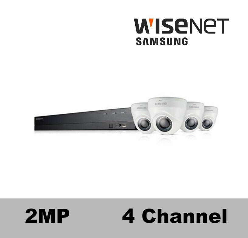 SDH-B73043-4D Samsung 4 Channel 1080p Security Camera System