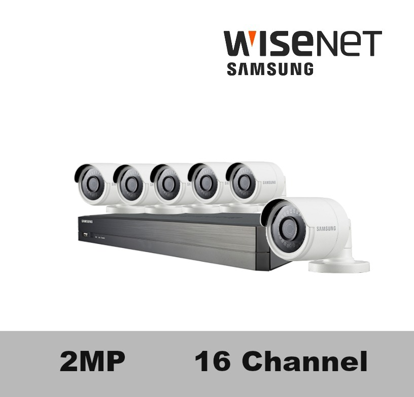 Sdh C75083bfn Samsung 16 Channel Hd Security Camera System