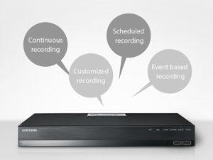 cctv recording modes