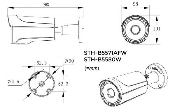 Stoic STH-B5580-drawing