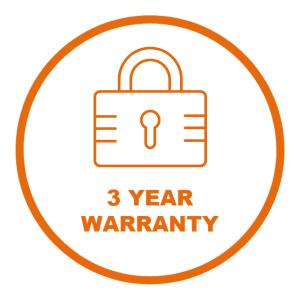 cctv warranty