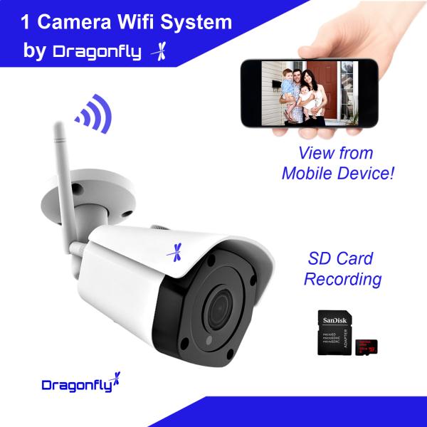 5MP Wifi Security Camera