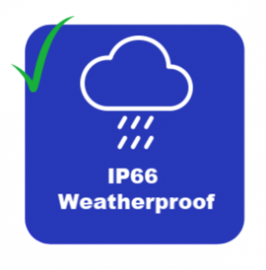 IP66 Weatherproof