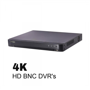 4K HD Security DVR's